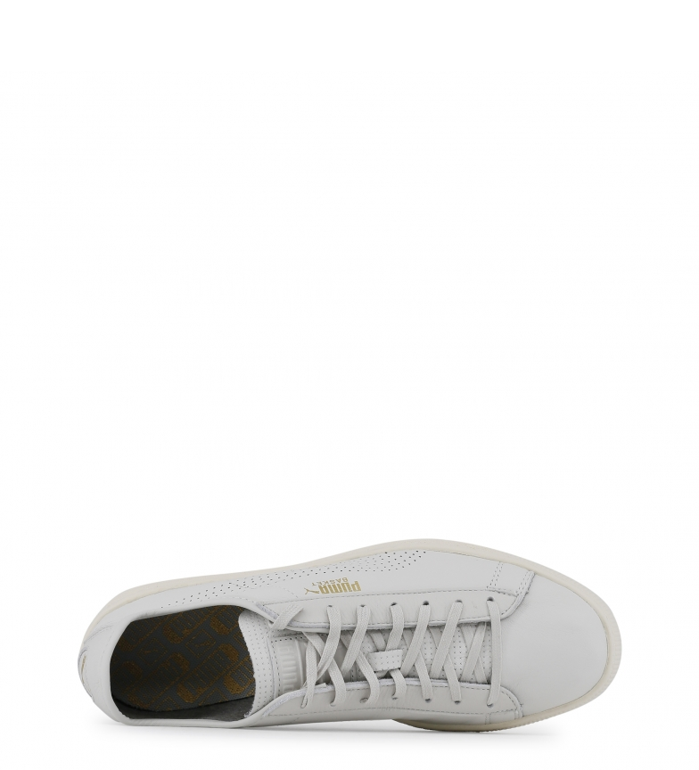 Puma-Sneakers-363650-Donna-Bianco-Nero-Grigio-Tessuto-Sintetico-Pelle-Basso