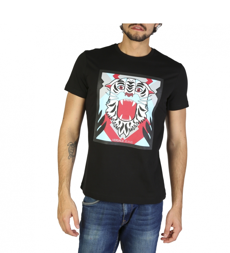 Comprar Versace Jeans T-shirts B3GRB71E36598 preto