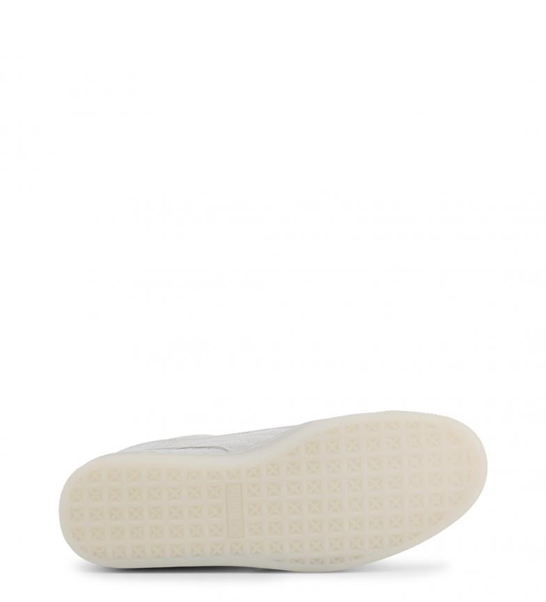 Puma-Zapatillas-de-piel-Suede-Jelly-Mujer-chica-Plano-Cordones-Casual-Rosa miniatura 11