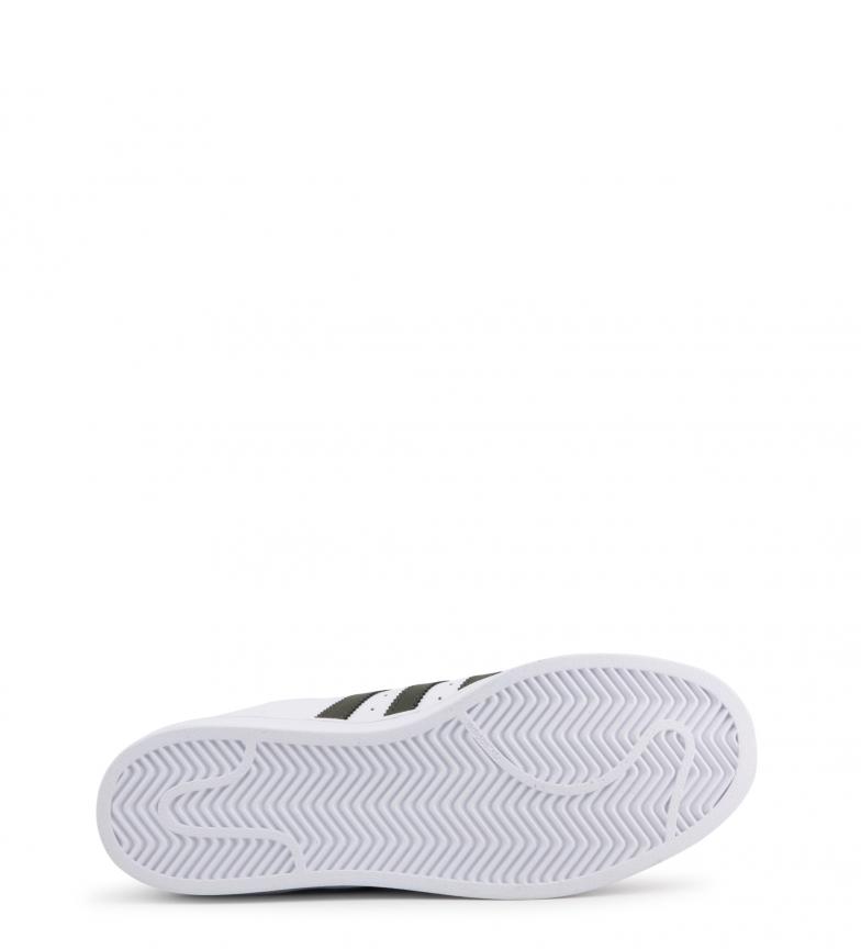 scarpe adidas bianche stringhe nere