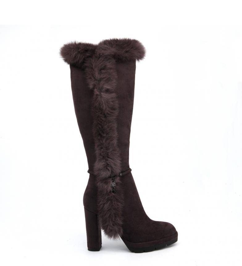 Comprar Laura Biagiotti Botas 5100 marrom - Calcanhar de salto: 11cm