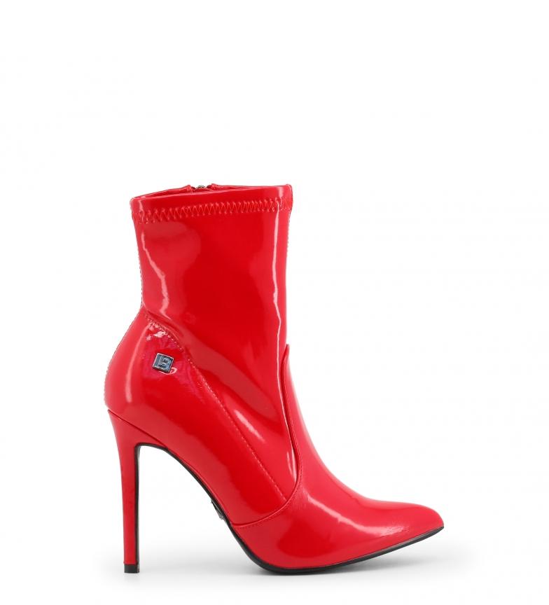 Comprar Laura Biagiotti Booties 5009 red -Heel heel: 11cm-