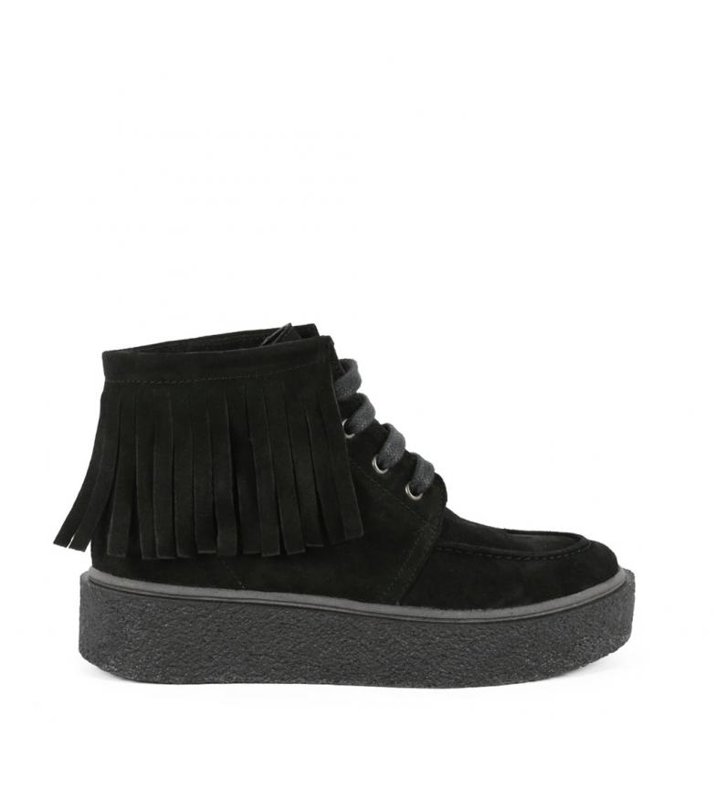 Comprar Chika10 Jane 09 bottes en cuir noir
