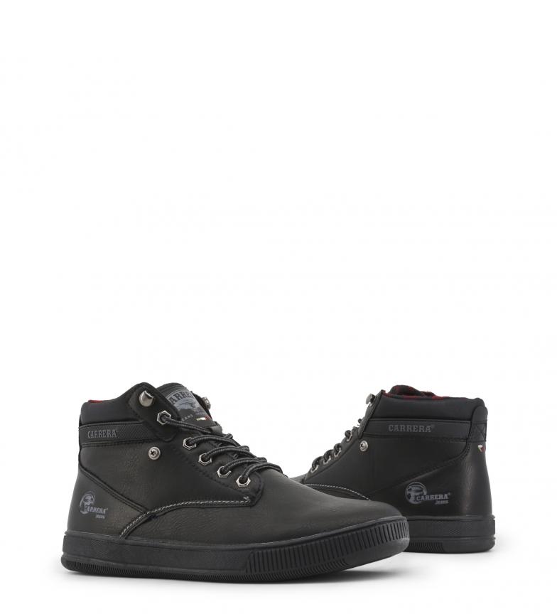 Carrera-Jeans-Sneakers-Ronnie-Loyd-Boxer-Hombre-chico-Plano-Cordones miniatura 4