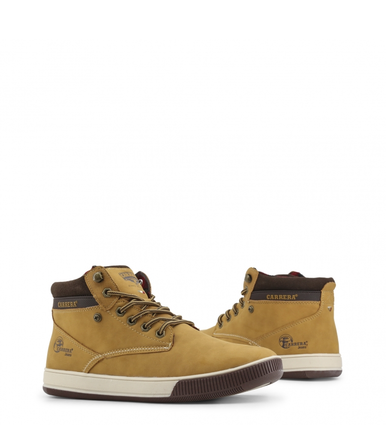 Carrera-Jeans-Sneakers-Ronnie-Loyd-Boxer-Hombre-chico-Plano-Cordones miniatura 14