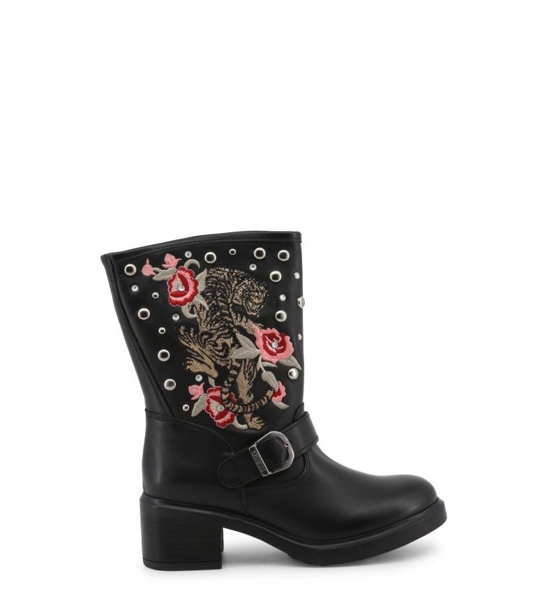 Comprar Guess Stivali in pelle FLZEN4LEP11 nero -Altezza tacco: 6cm-