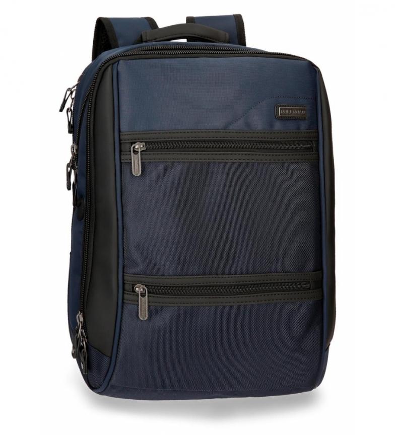 Comprar Roll Road Laptop mochila Roll Road Stock duplo compartimento azul -32x43x15cm-