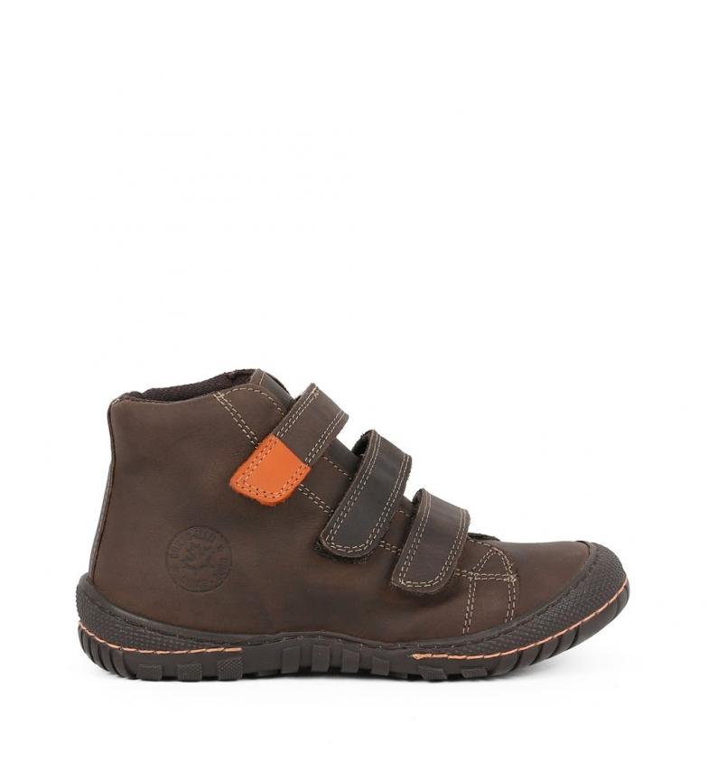 Comprar Chika10 Kids Megaboys 02 botas de couro castanho