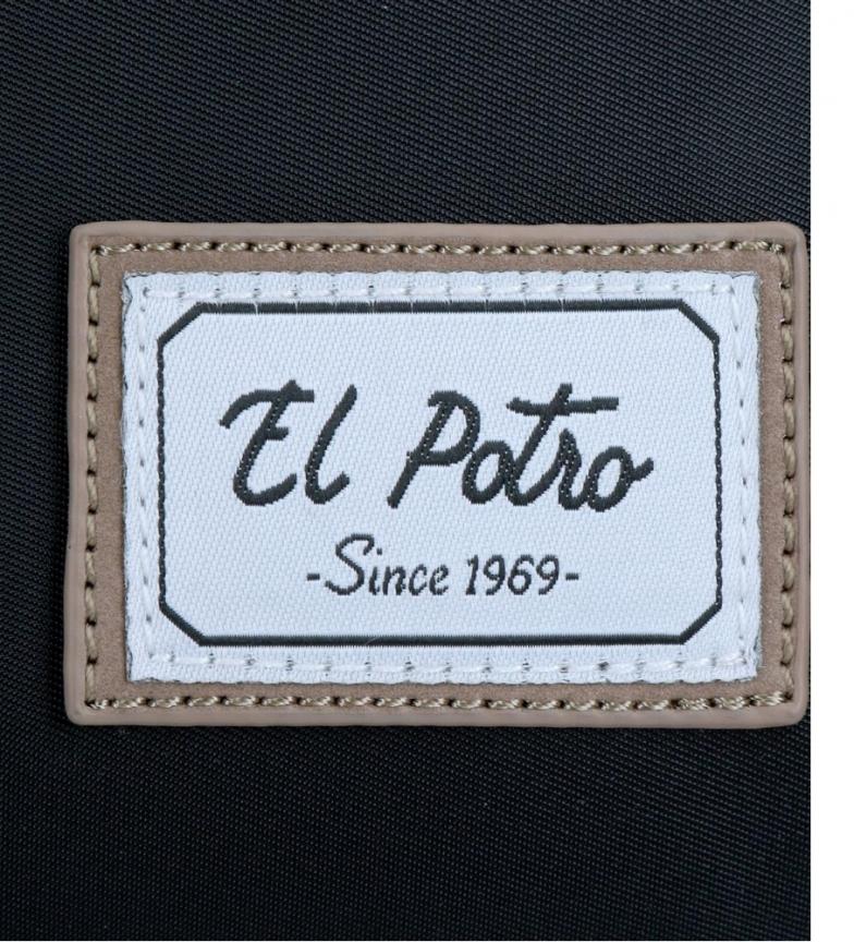 Comprar El Potro Bandolier El Potro Pipe Negra -23x17x17x10cm-