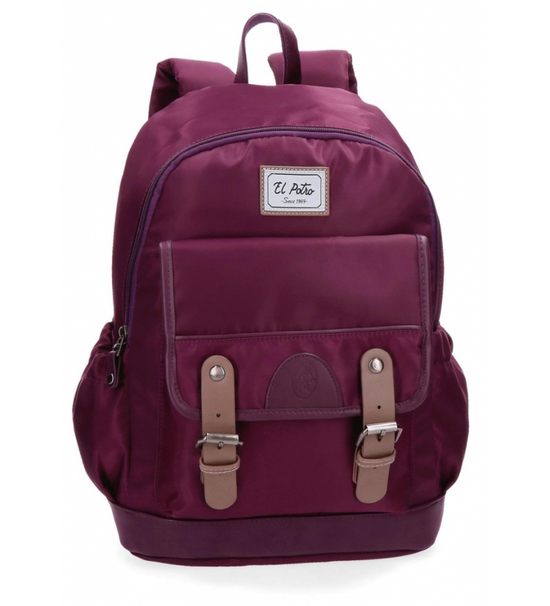 Comprar El Potro Casual backpack El Potro Pipe Bordeaux -30x40x15cm-
