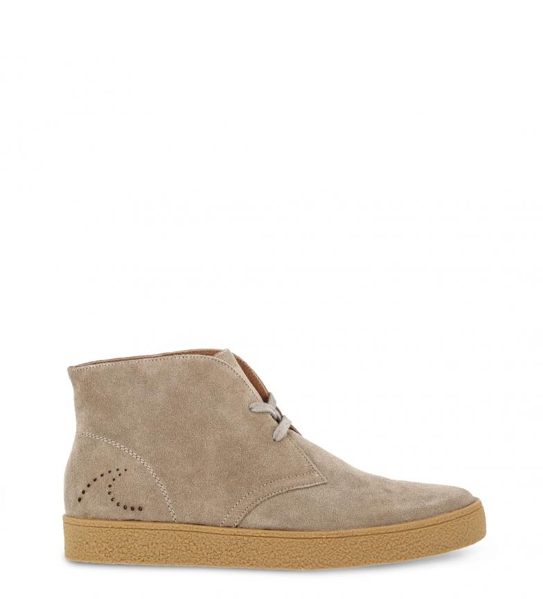 Comprar Docksteps NEWSALINAS-MID_2126_BROWN chaussures en cuir brun marron