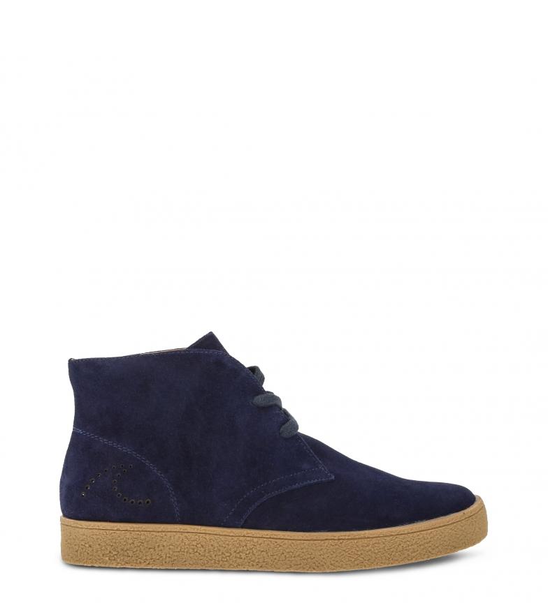 Blue Zapatos Newsalinas De blue 2126 mid Docksteps Piel CeordxB