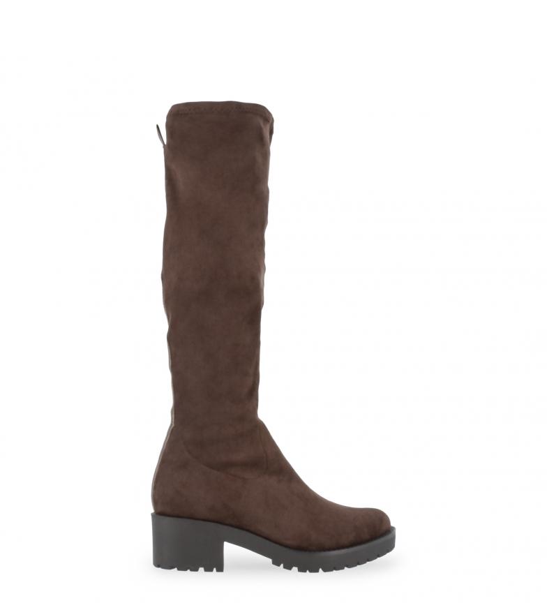 Comprar Docksteps Botas SAMARA marrom - Altura do salto: 6cm