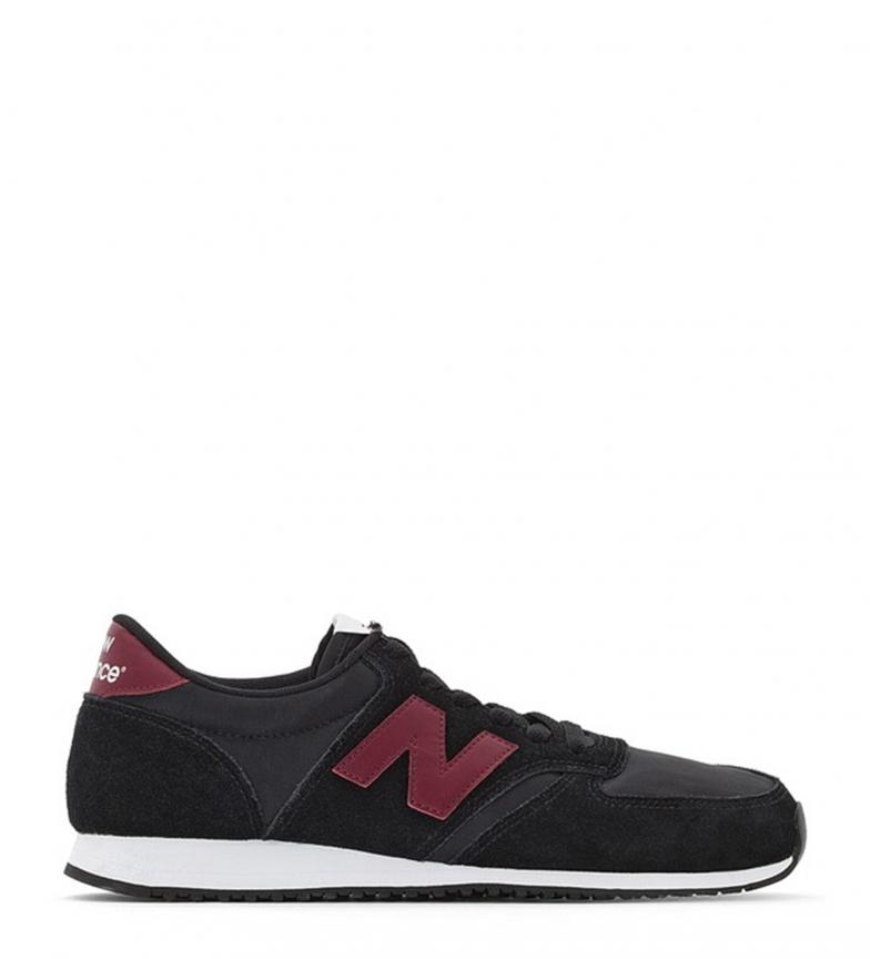 U420 Sneakers New Stringhe Casual Balance Uomo Nero Basso P8nwkXON0