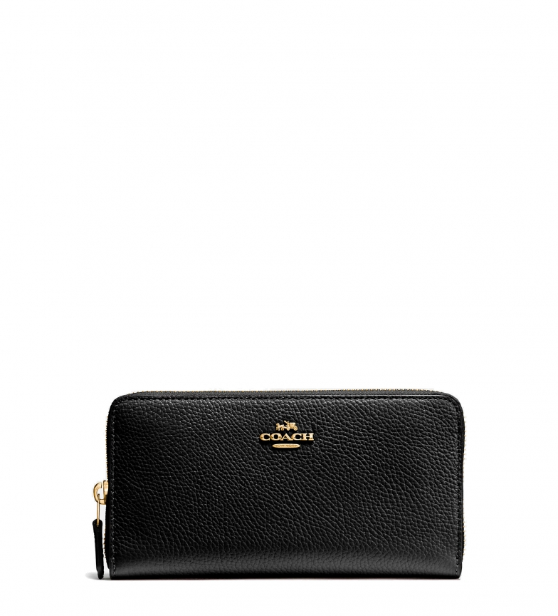 Comprar Coach Leather wallet 58059 black