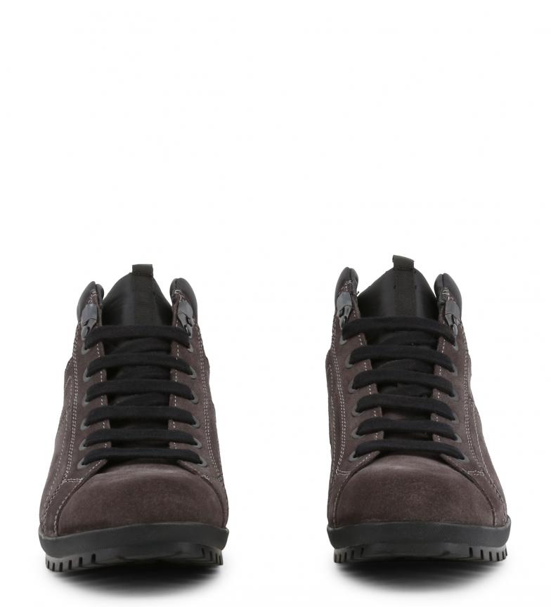 Zapatos Sm03101 Lumberjack Cordones 010 Grey Piel Con De uXZTOPki