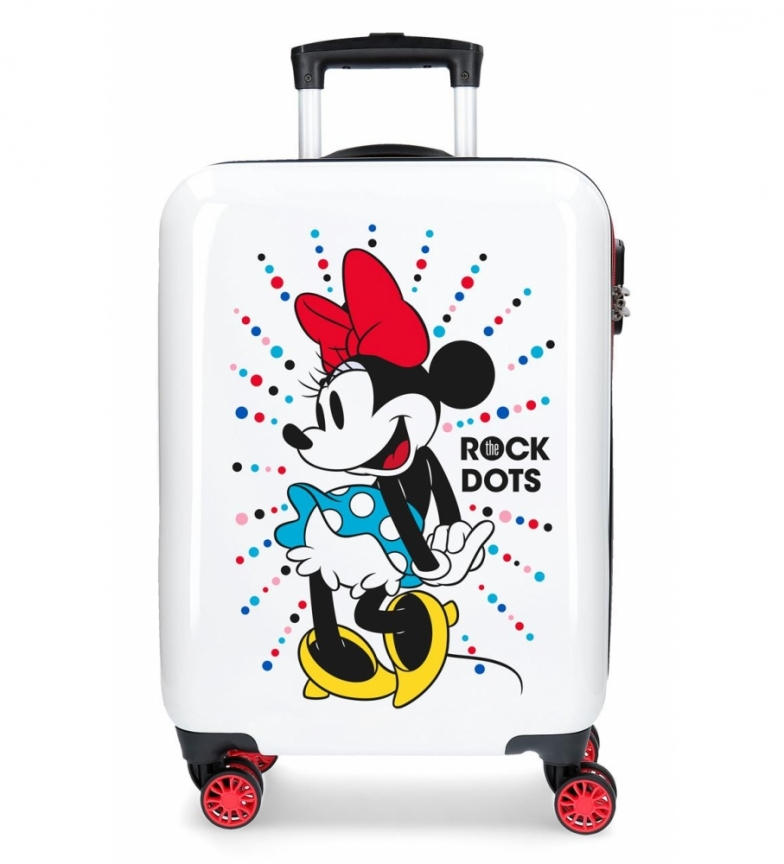 Comprar Minnie Mickey Magic valigia rigida cabina rigida a puntini -36x55x55x20cm-