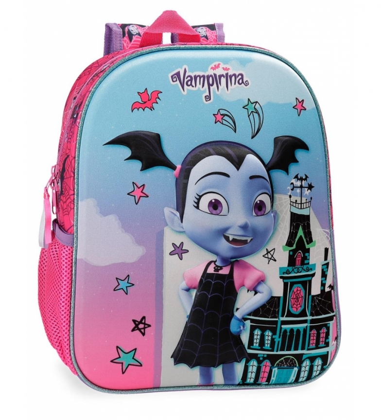 Comprar Vampirina Preschool Backpack Vampirina adaptable to cart Frontal 3D -27x33x11cm-
