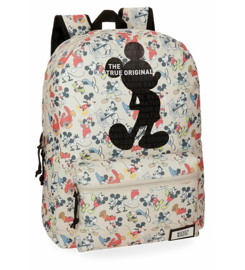 Comprar Mickey Mickey True Original Backpack adaptable to trolley -32x42x16cm-