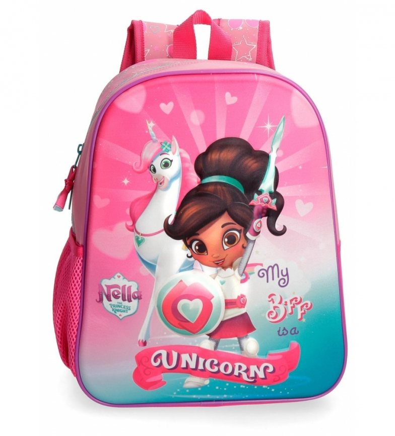 Comprar Nella Nella Preschool Backpack Front 3D adaptable to trolley -33x27x11cm-