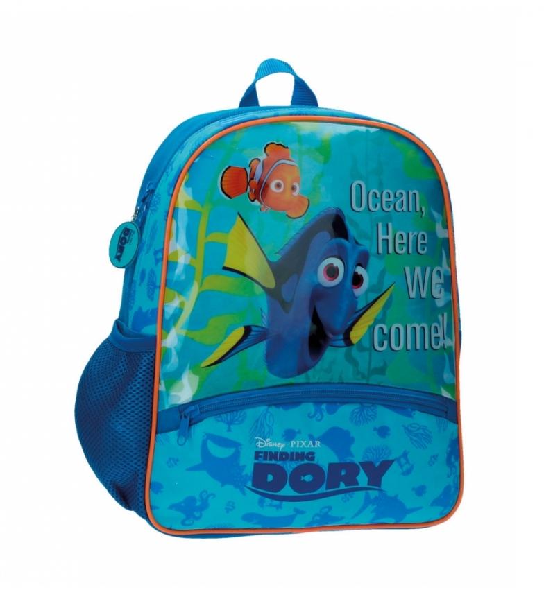 Comprar Buscando a Dory Zaino scuola materna adattabile al carrello Trovare Dory -27x33x33x11cm-