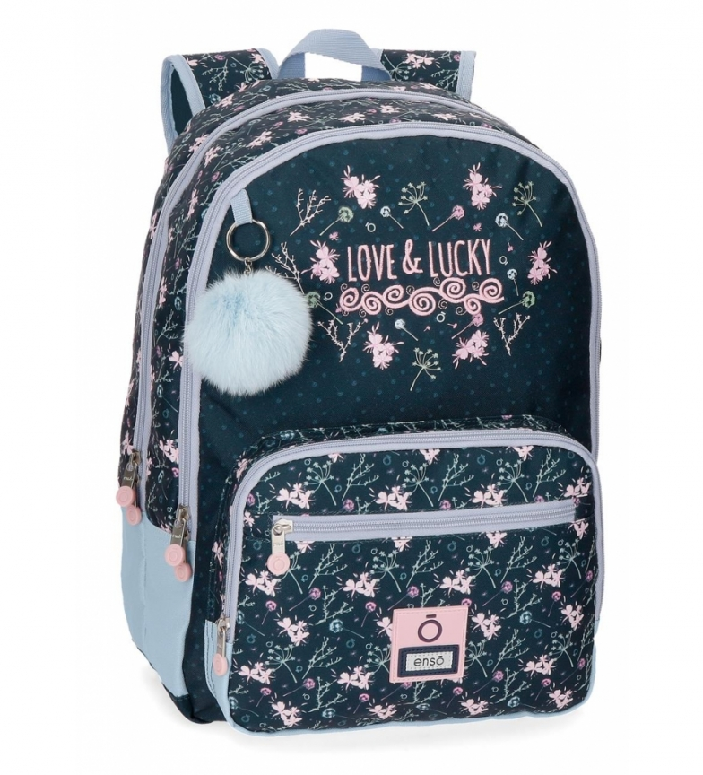 Comprar Enso Mochila Enso Love and Lucky doble compartimento adaptable a carro -32x44x17cm-