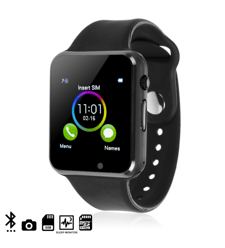 Comprar Tekkiwear by DAM Smartwatch G08 with pedometer, sleep monitor and camera
