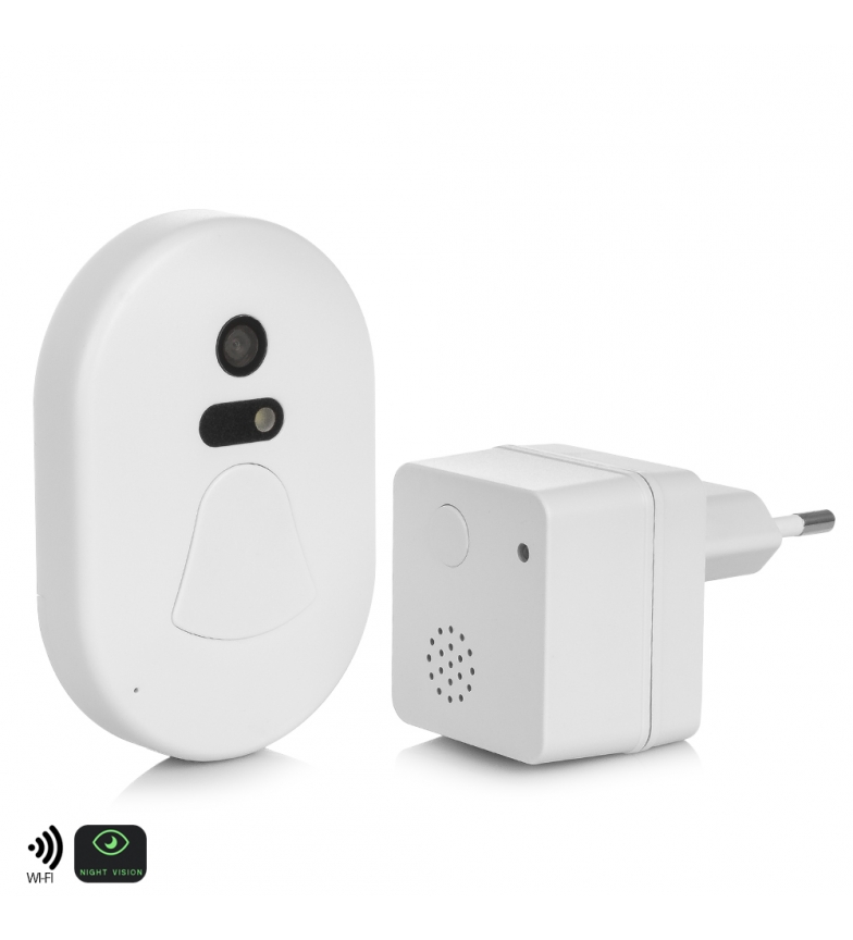 Comprar Tekkiwear by DAM Wi-Fi bell with built-in camera