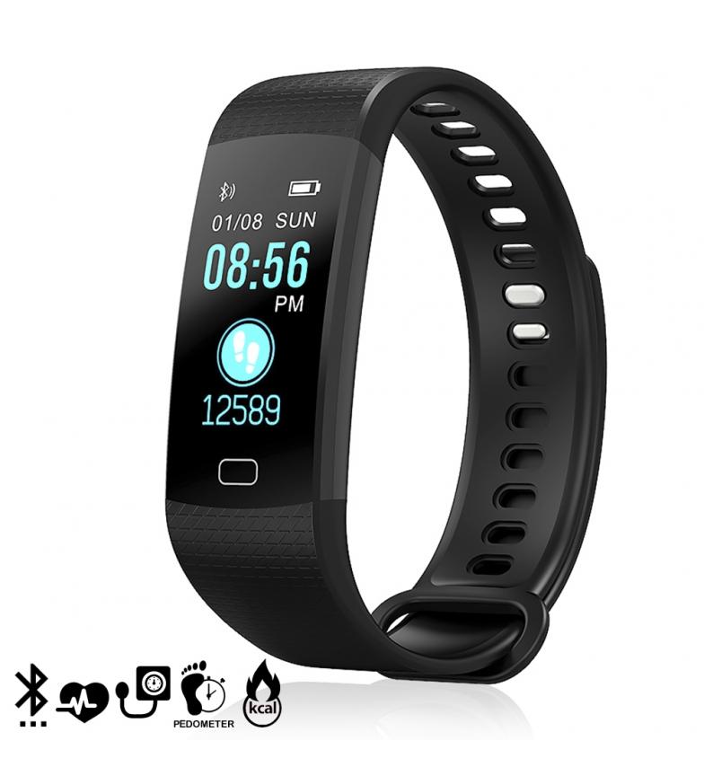 Comprar Tekkiwear by DAM Relógio inteligente Bluetooth AK-Y2S display colorido, monitor cardíaco, O2 em sangue, notificações para iOS e Android