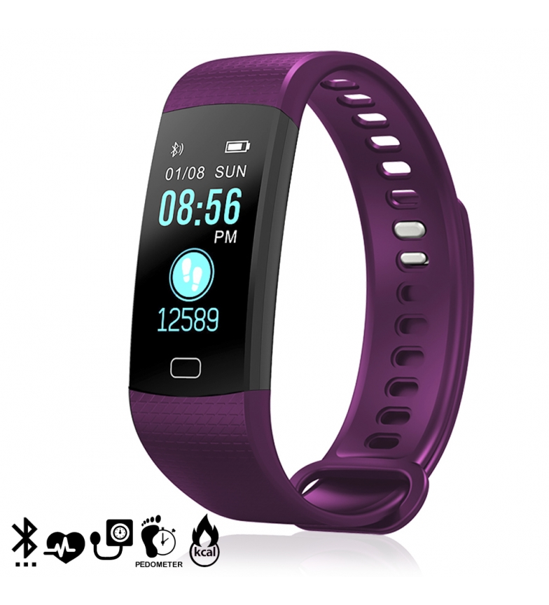 Comprar Tekkiwear by DAM Intelligent Bluetooth Bracelet AK-Y2S color display, heart monitor, O2 in blood, notifications for iOS and Android