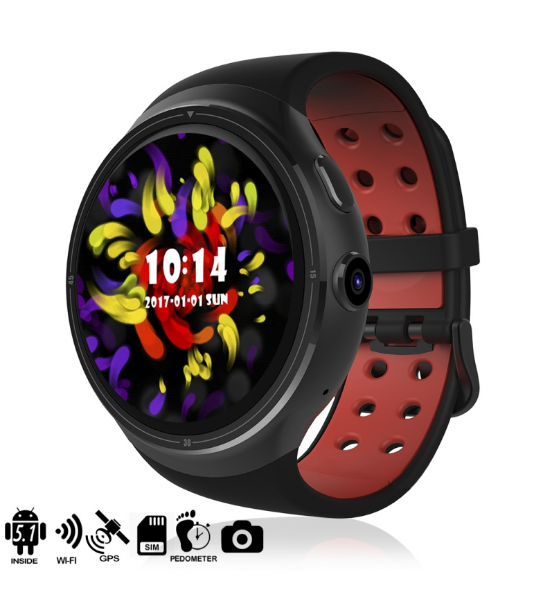Comprar Tekkiwear by DAM Smartwatch Phone AK-Z10 Quad Core with Android 5.1 operating system, GPS and Wi-Fi
