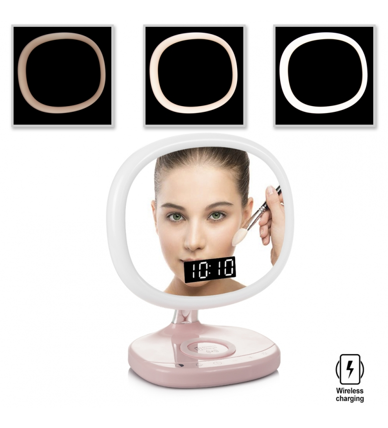 Comprar Tekkiwear by DAM Intelligent wake-up light with mirror and wireless charger