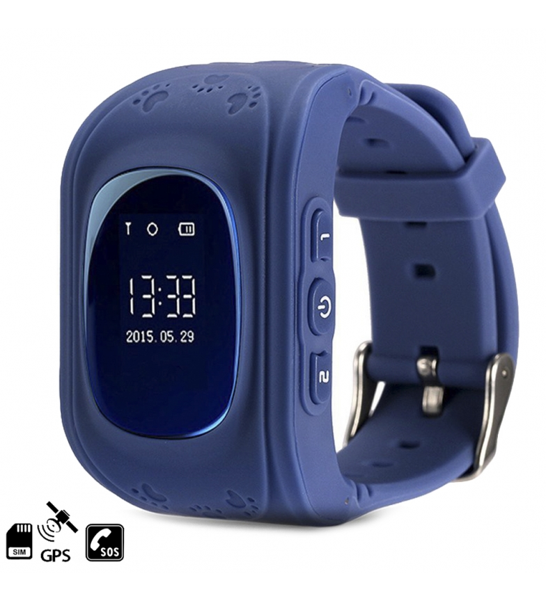 Comprar Tekkiwear by DAM Smartwatch GPS Q50 especial para niños, con función de rastreo, llamadas SOS y recepción de llamada
