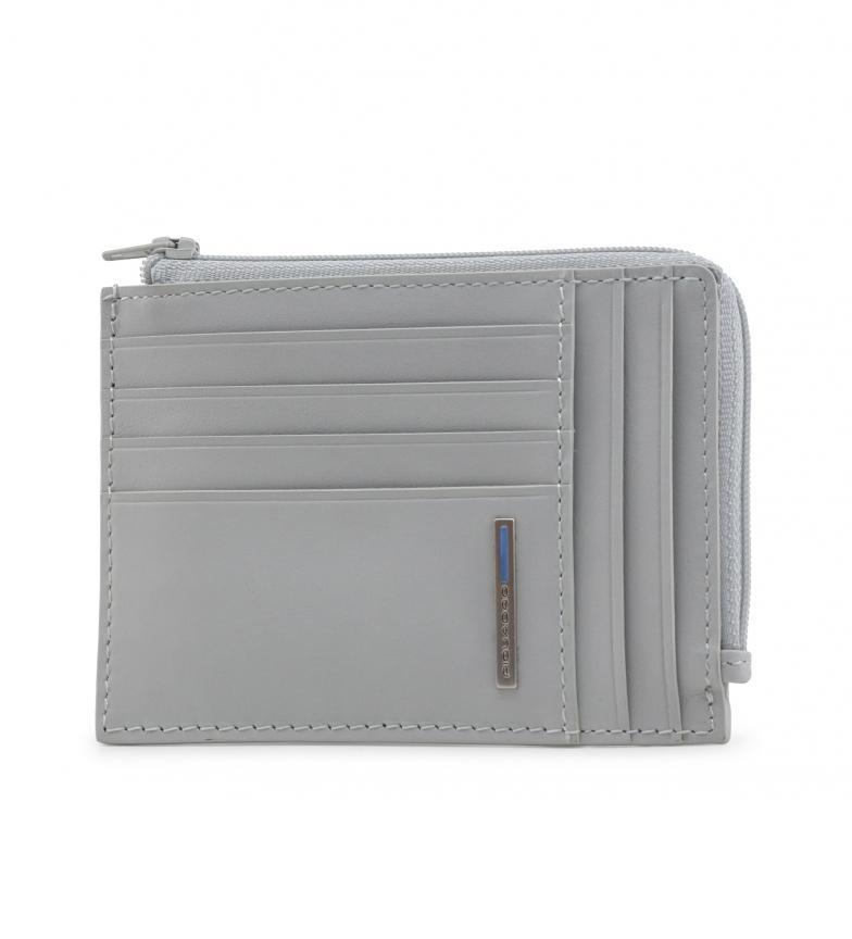 Comprar Piquadro Sac à main en cuir PU1243B2 gris -12,5x9x2x2cm-