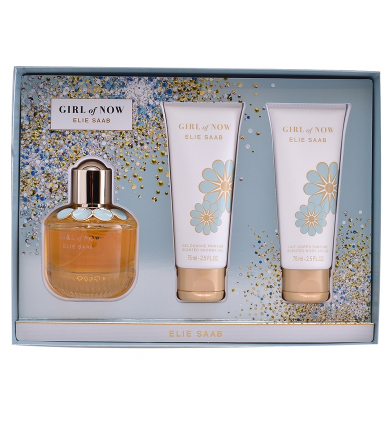 Comprar Elie Saab Lote 3pz Girl of Now edp 50ml + Gel de Ducha 75ml + loción corporal 75ml