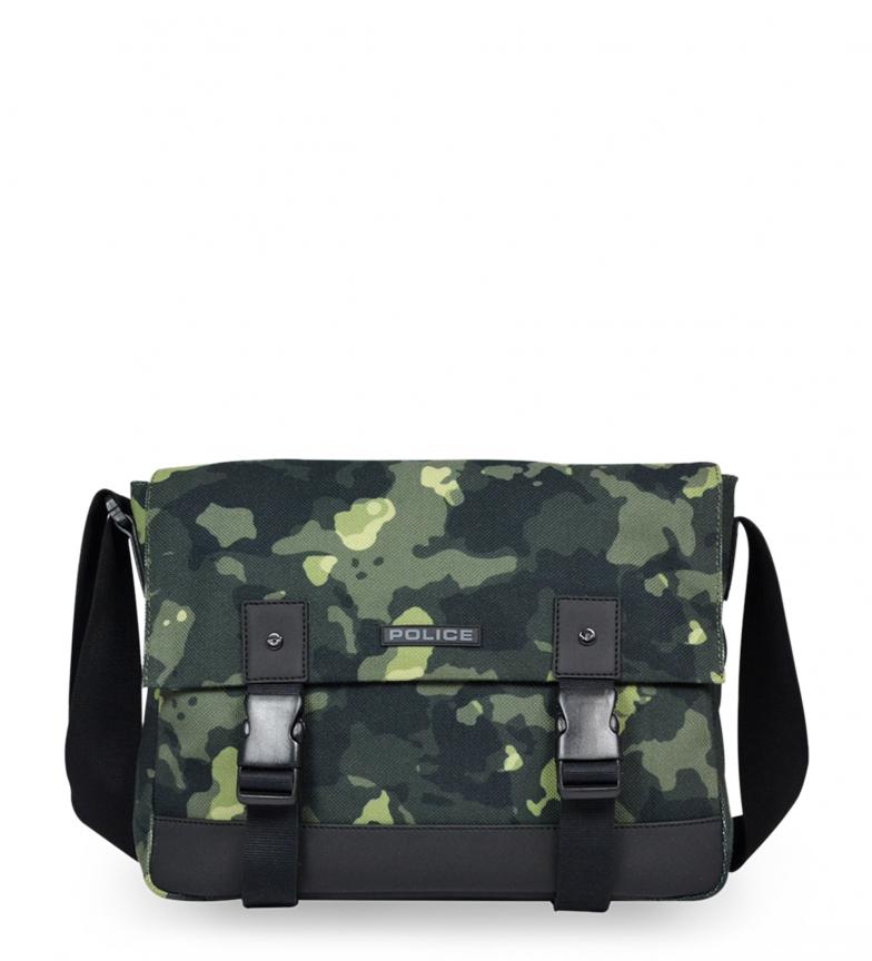 Comprar Police Briefcase PT442145 green -37x28x10cm-