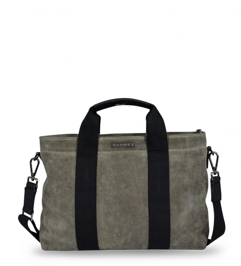 Comprar Police Leather briefcase PT392131 brown -40x28x10cm-