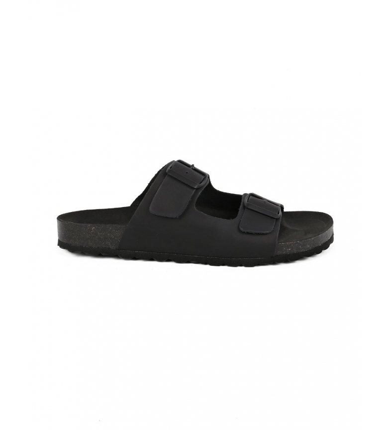 Comprar Chiko10 Sandálias de couro de Cannes 01 preto