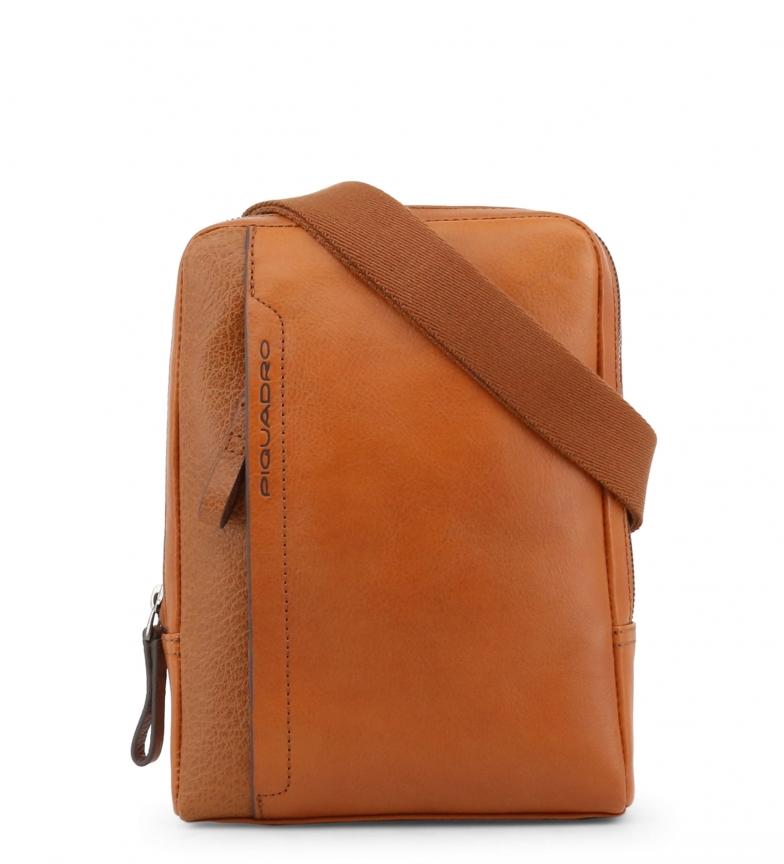 Comprar Piquadro Bandolera de piel CA4263S94 brown -18x24x4cm-