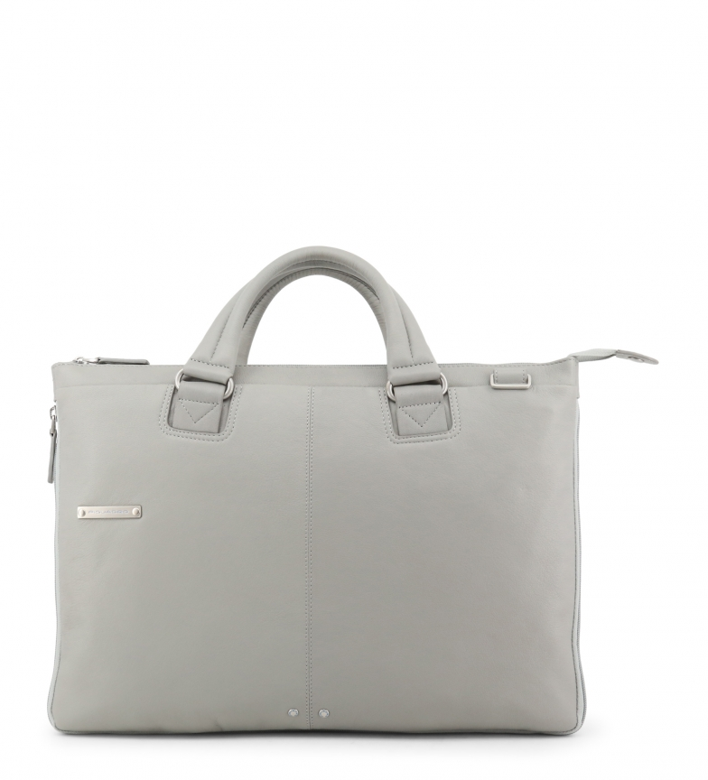 Comprar Piquadro Leather briefcase CA4021X2 grey -43x30x3cm-