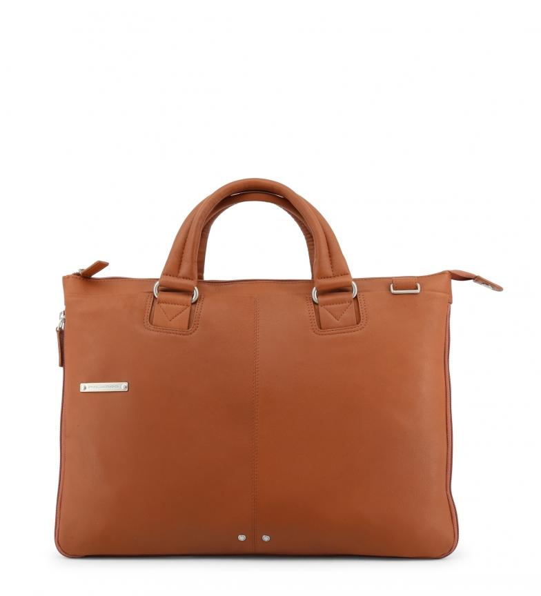 Comprar Piquadro Maletín de piel CA4021X2 brown -43x30x3cm-