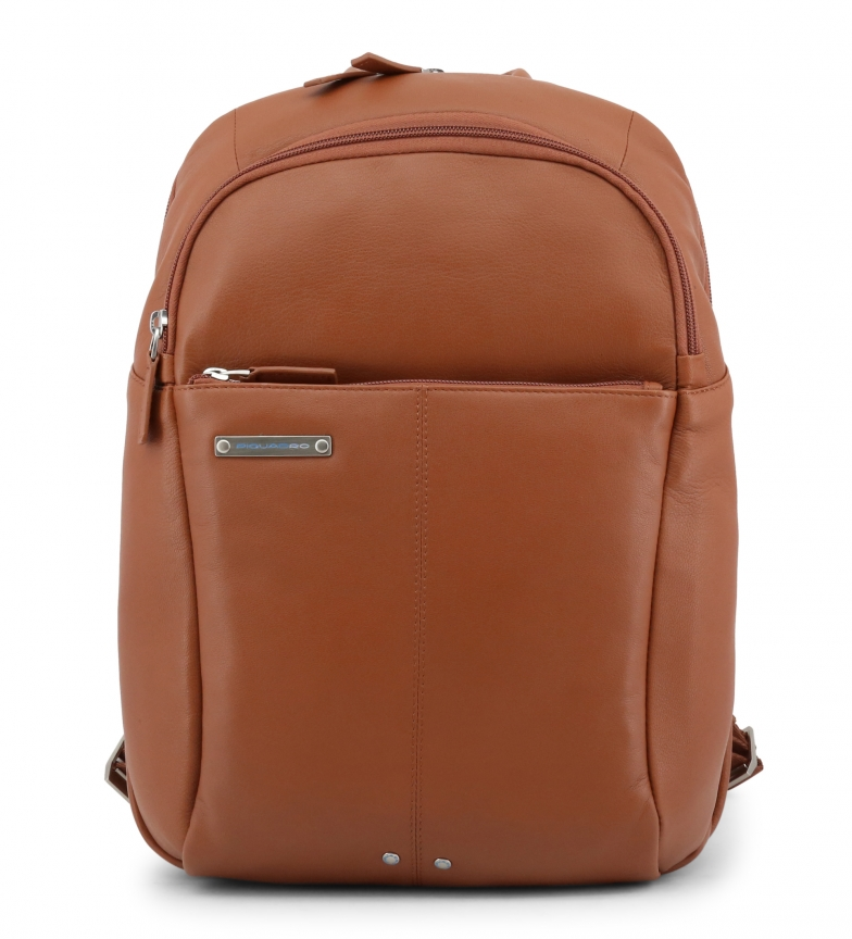 Comprar Piquadro Leather backpack CA3214X2 brown -30x42x16cm-