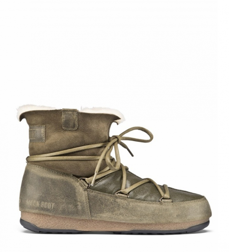 Moon Botines Boot Green 24006100 wulPkOXZiT