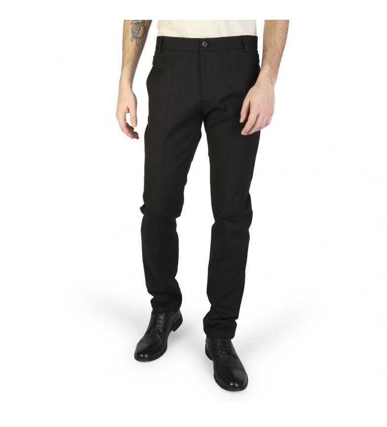 new style 8c3c0 622cd Dettagli su Emporio Armani - Pantaloni U1P860_U1015 nero Uomo
