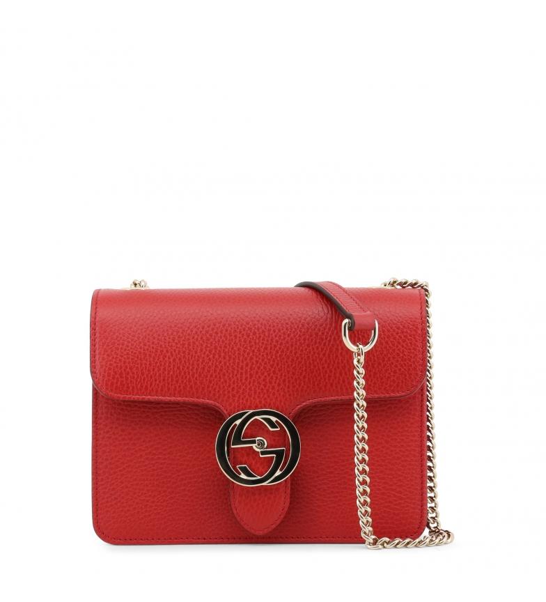 Comprar Gucci Tracolla in pelle 510304_CA00G rosso