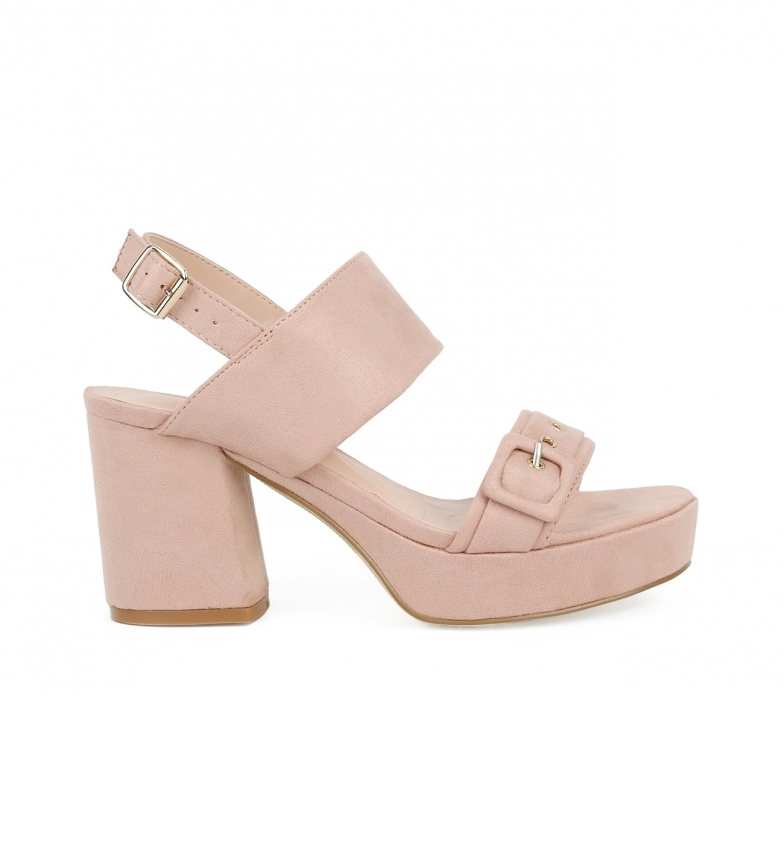 Comprar Chika10 Sandals Frida 04 nude -Heel height: 9cm