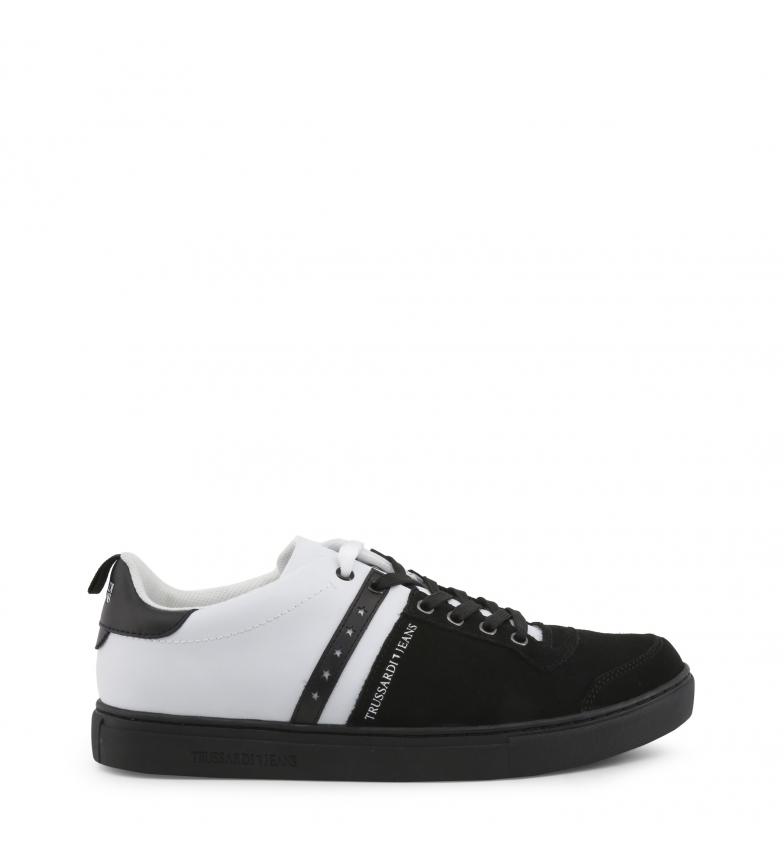 Comprar Trussardi Leather sneakers 77A00110 black