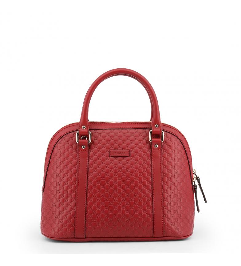 Comprar Gucci Bolsa de couro 449663_BMJ1G vermelho