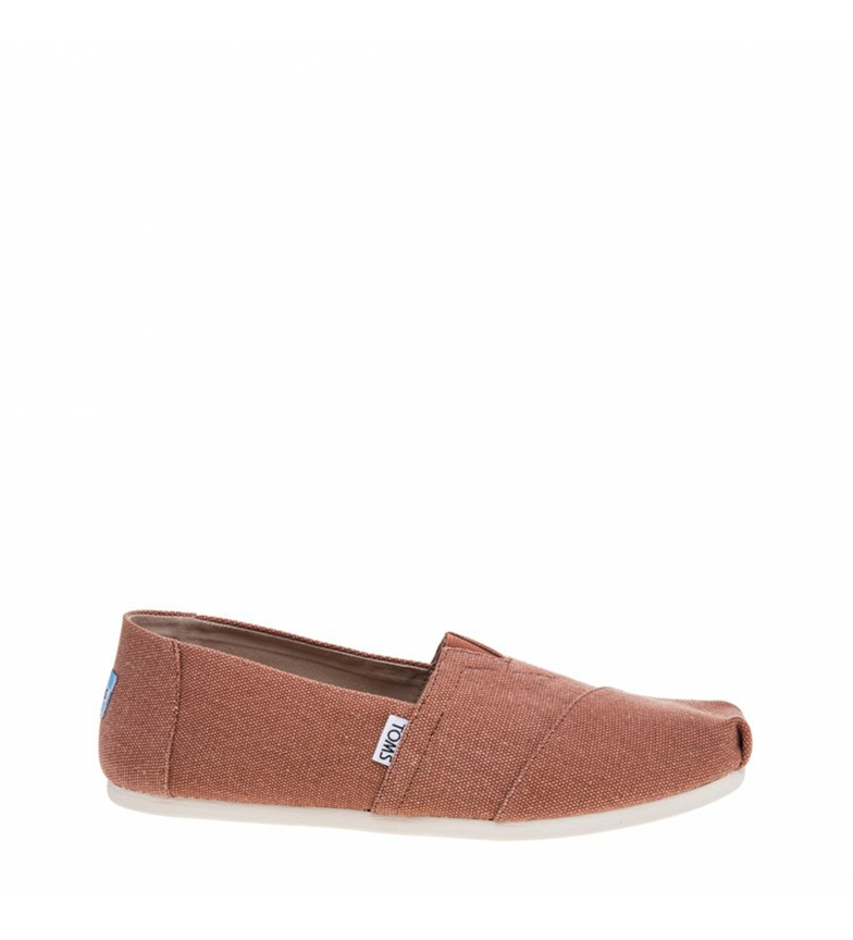 Comprar TOMS Slip-on WASHED-CANVAS marron