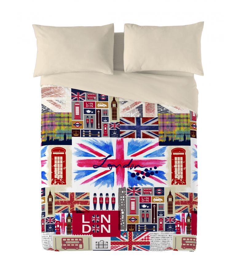 Comprar Naturals Britain Duvet Cover -Bed 90cm